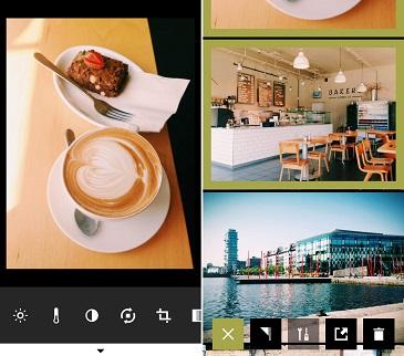 Phần mềm chụp ảnh quảng cáo VSCO Cam