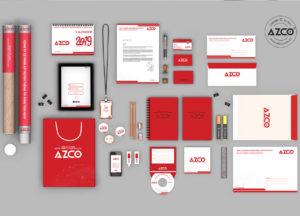 Bộ nhận diện AZCO Branding