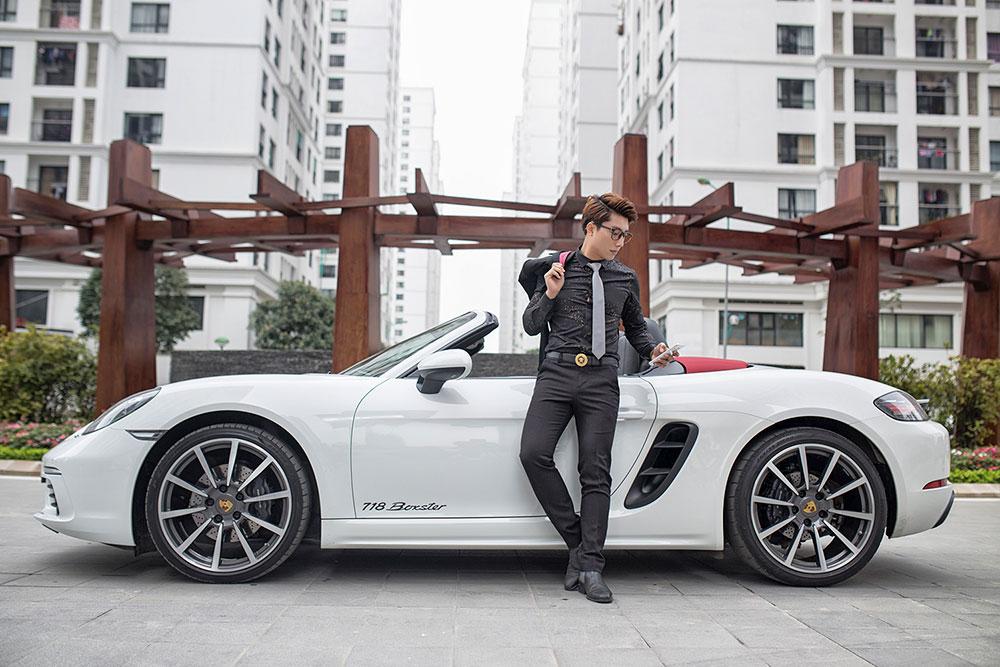 bộ ảnh quảng cáo xe Porsche đẹp