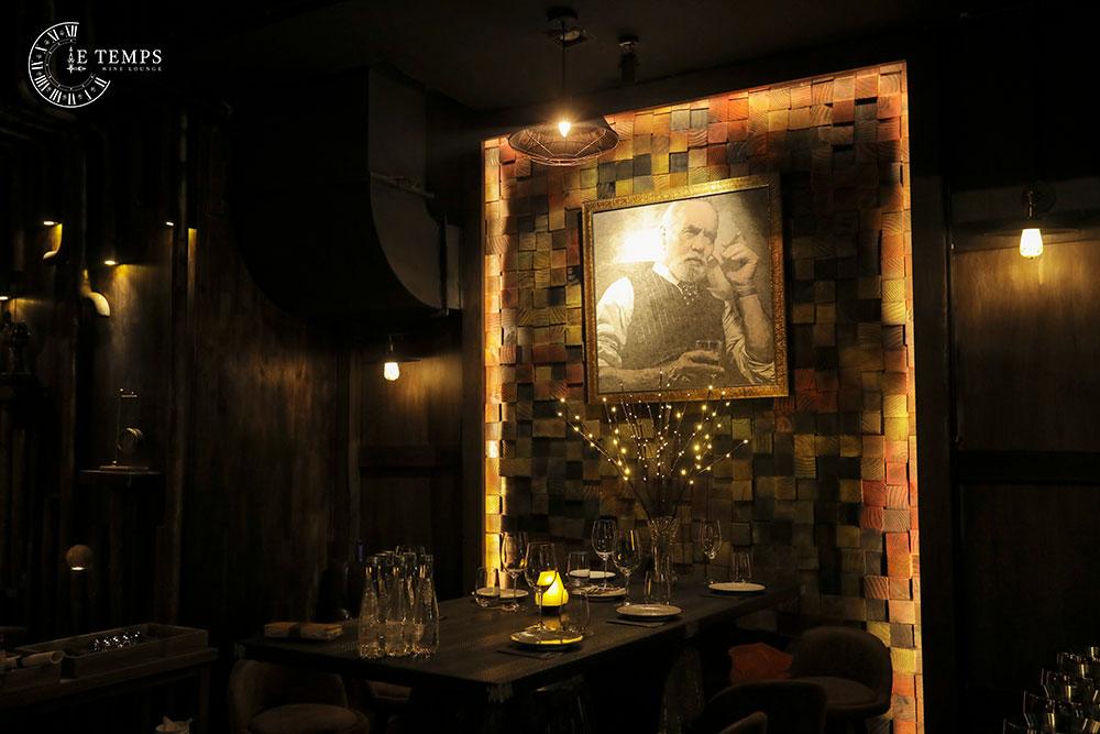 dịch vụ Chụp Ảnh Thương Hiệu LE TEMPS Wine Lounge