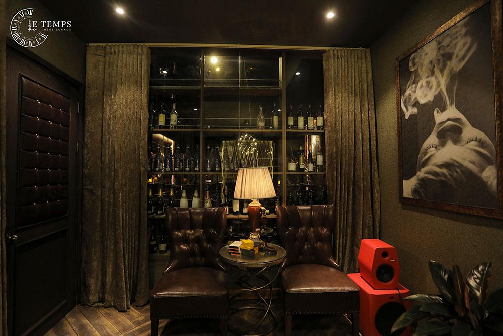 Chụp Ảnh Thương Hiệu LE TEMPS Wine Lounge đẹp