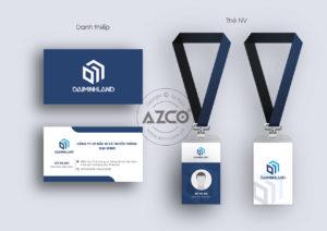Hồ sơ nhận diện thương hiệu DAI MINH LAND | AZCO Branding