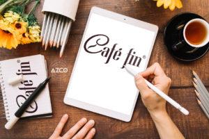 Thiết kế CAFE FIN | AZCO Branding