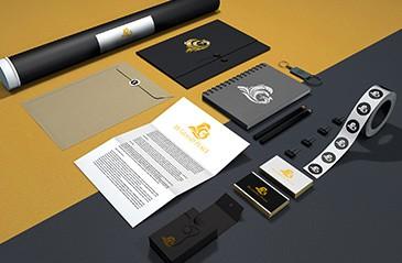 thiết kế bộ nhận diện thương hiệu online