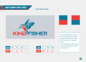 Thiết kế logo KING FISHER