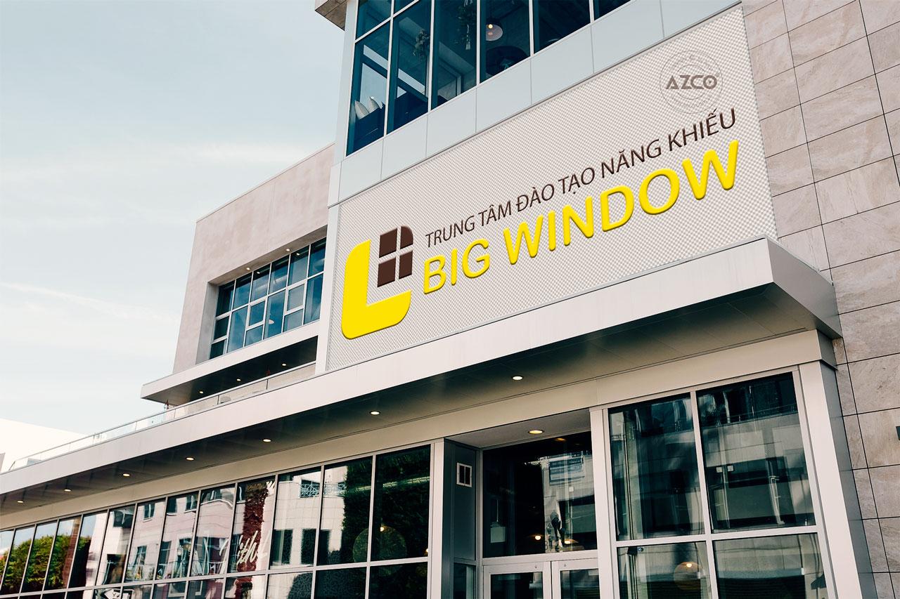 Thiết Kế Logo Thương Hiệu BIG WINDOW Tại AZCO