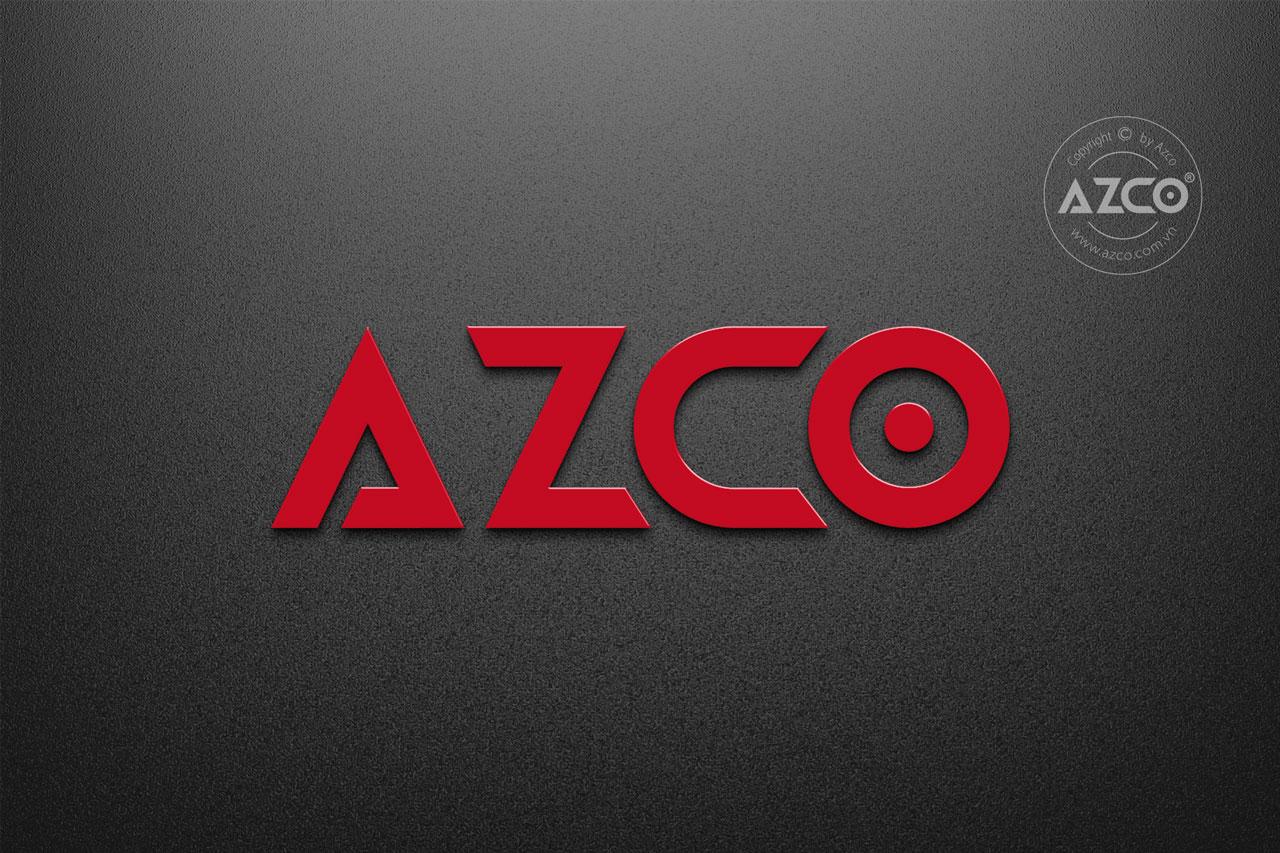 Thiết kế logo AZCO