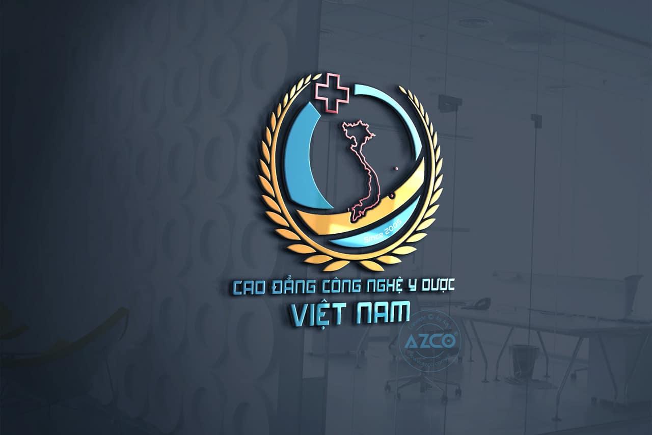 Thiết Kế Logo Cao Đẳng Công Nghệ Y Dược Việt Nam