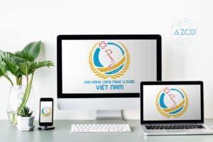 Thiết kế logo thương hiệu CAO DANG Y DUOC VIET NAM | AZCO Branding