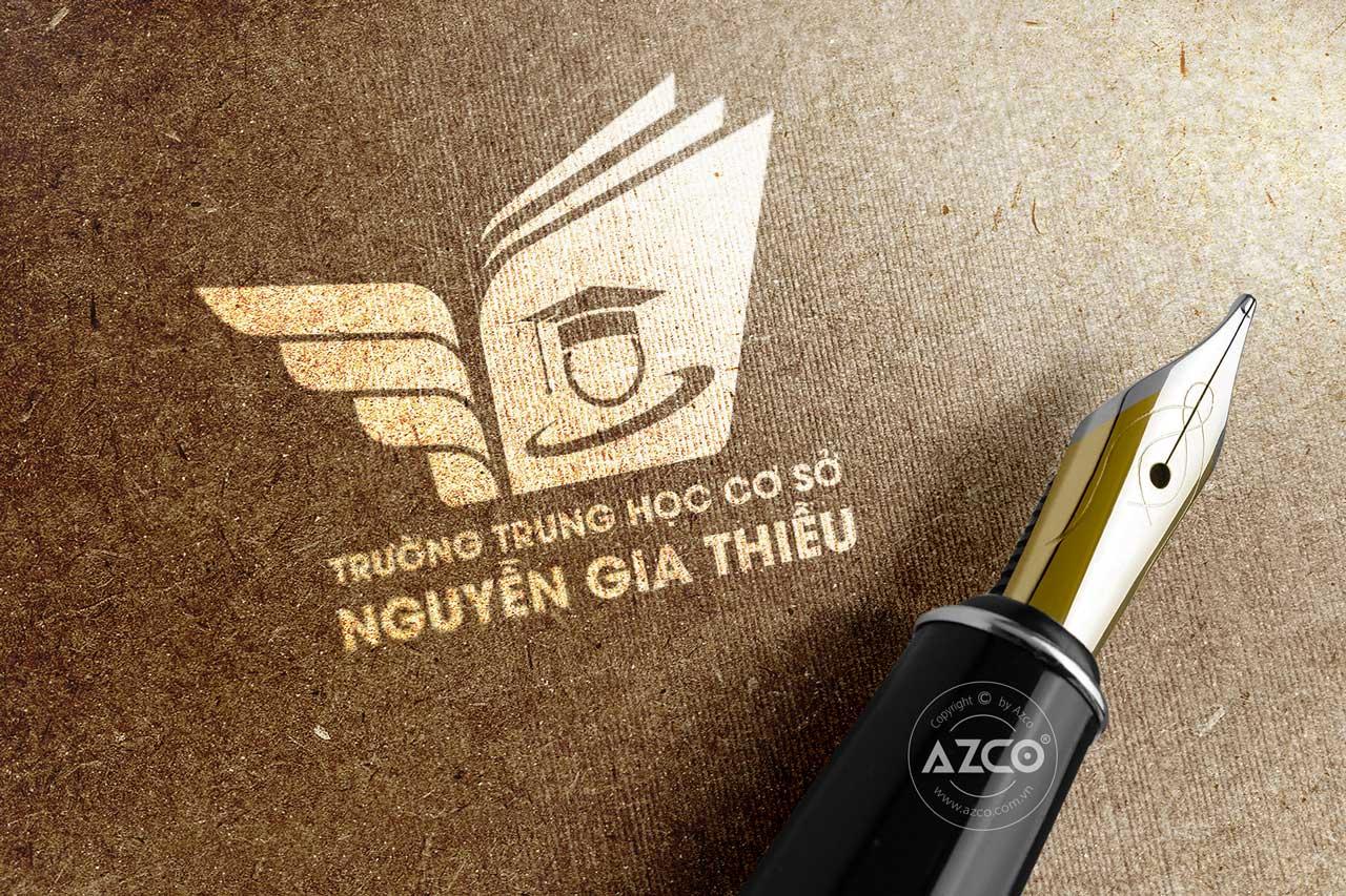 Thiết Kế Logo Thương Hiệu Trường THCS Nguyễn Gia Thiều
