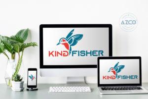 Thiết kế logo thương hiệu KING FISHER | AZCO Branding