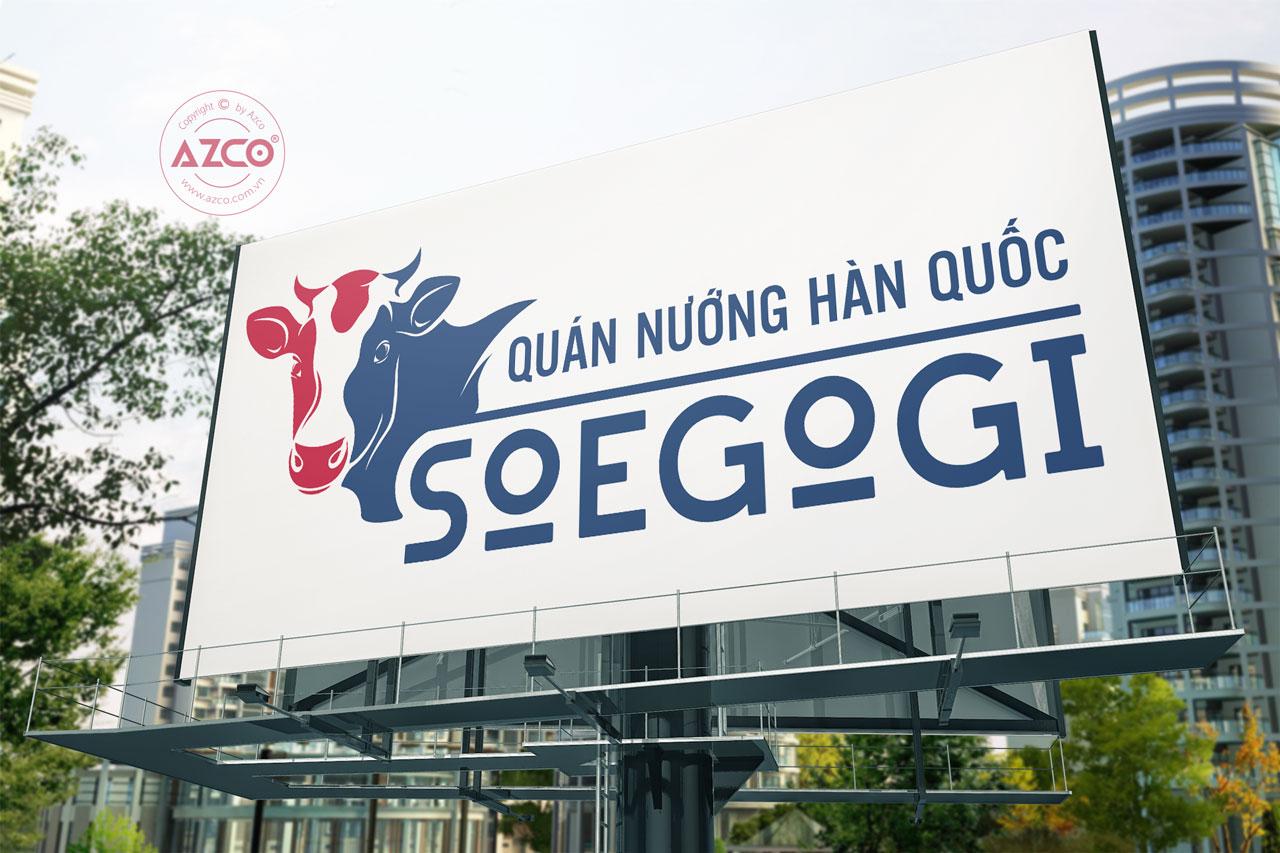 Thực Hiện Thiết Kế Logo Thương Hiệu SOEGOGI Tại AZCO