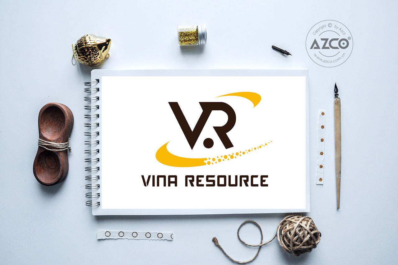 Thiết Kế Logo Thương Hiệu VINA RESOURCE Tại AZCO