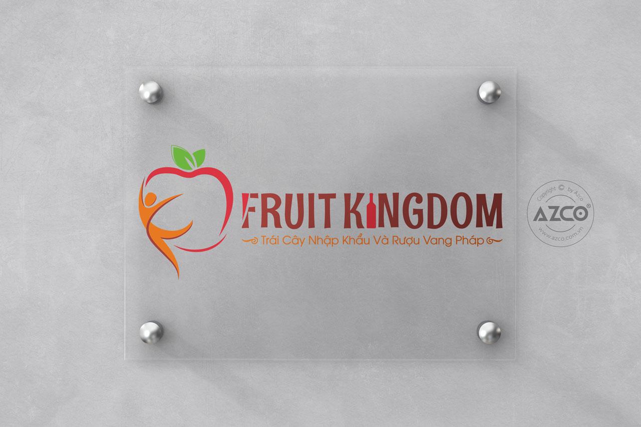 Thiết Kế Logo Thương Hiệu FRUIT KINGDOM Tại AZCO