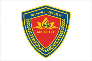 Thiết kế logo An Ninh Hoa Sen | AZCO Branding