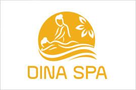 Thiết kế logo thương hiệu DINA SPA | AZCO Branding