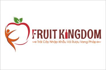 Thiết kế logo FRUIT-KINGDOM | AZCO Branding