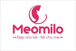 Thiết kế logo thương hiệu MEOMILO | AZCO Branding