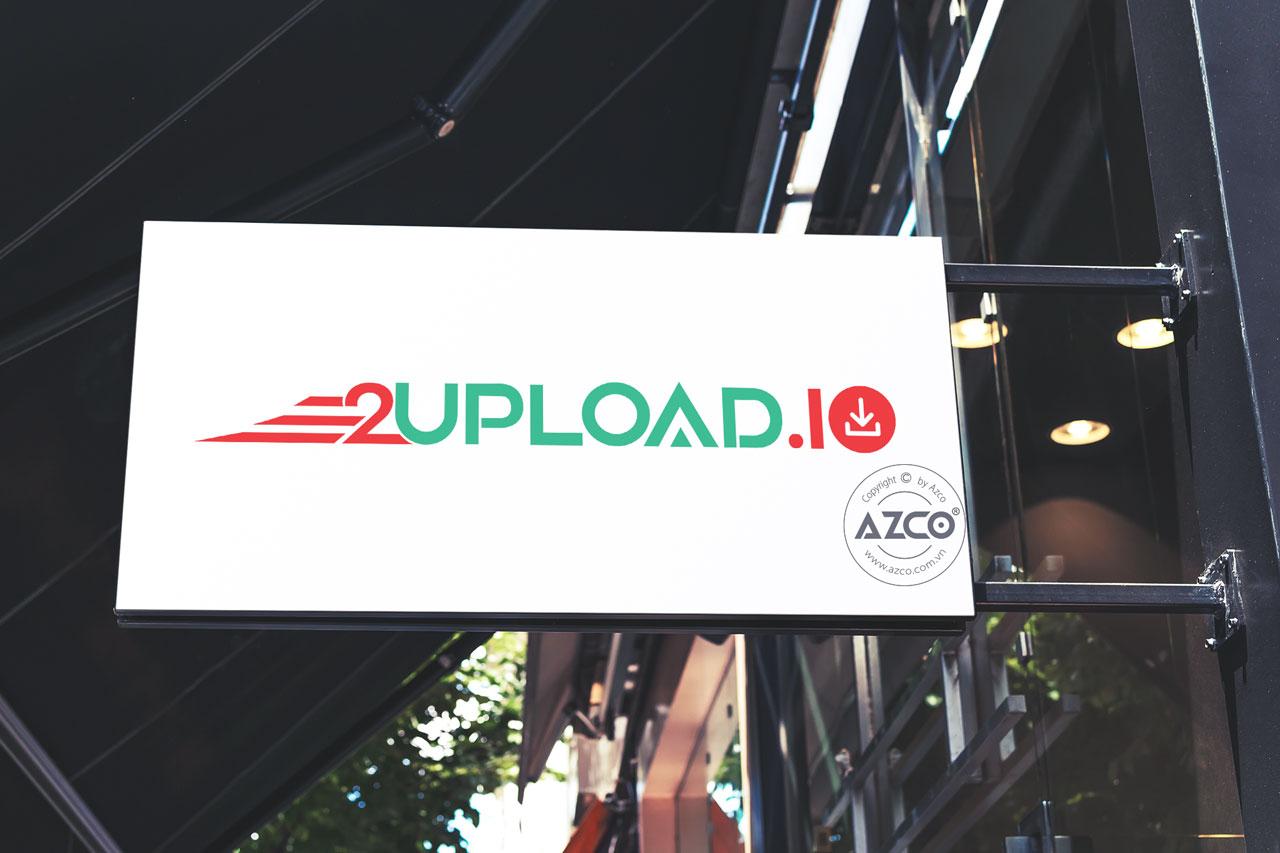 Thiết Kế Logo Thương Hiệu 2UPLOAD.IO Tại AZCO