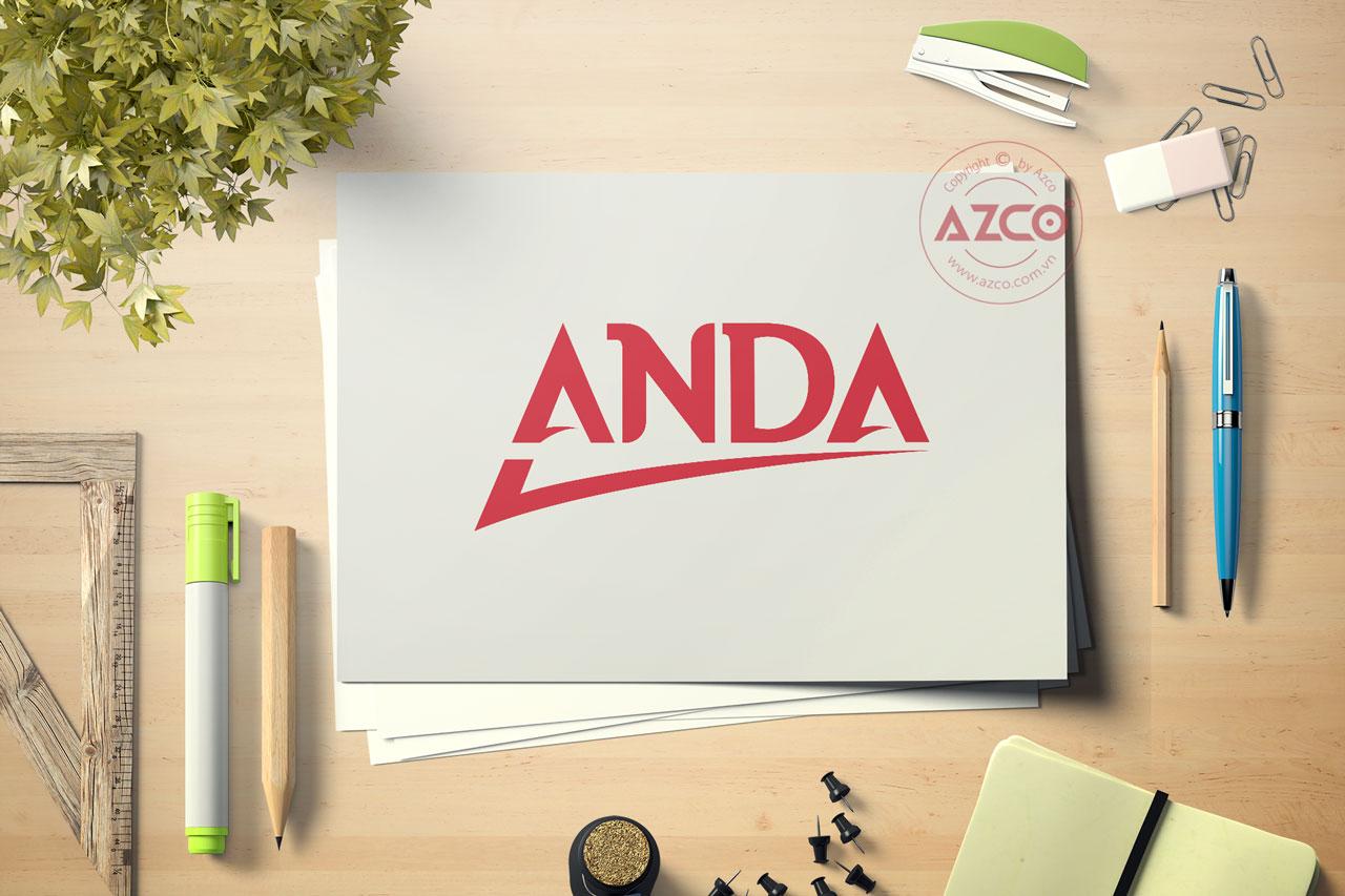 Thiết Kế Logo Thương Hiệu ANDA Tại AZCO