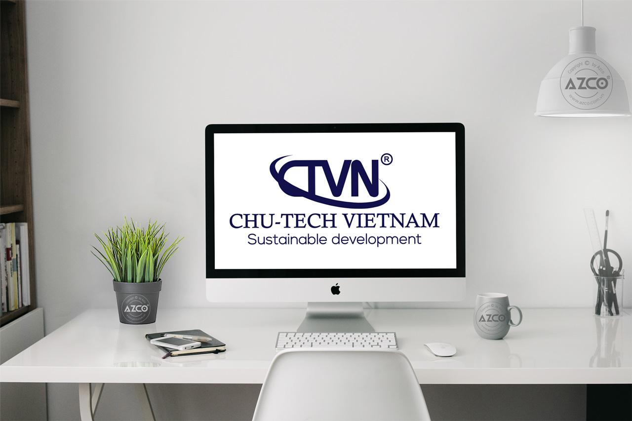Thiết Kế Logo Thương Hiệu CHU-TECH VIỆT NAM Tại AZCO