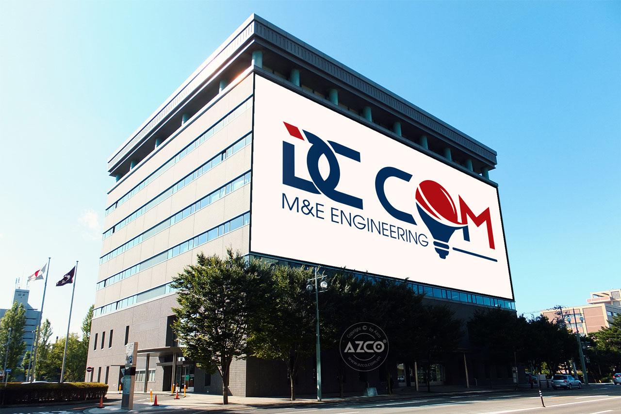 Thiết kế logo thương hiệu DC COM | AZCO Branding