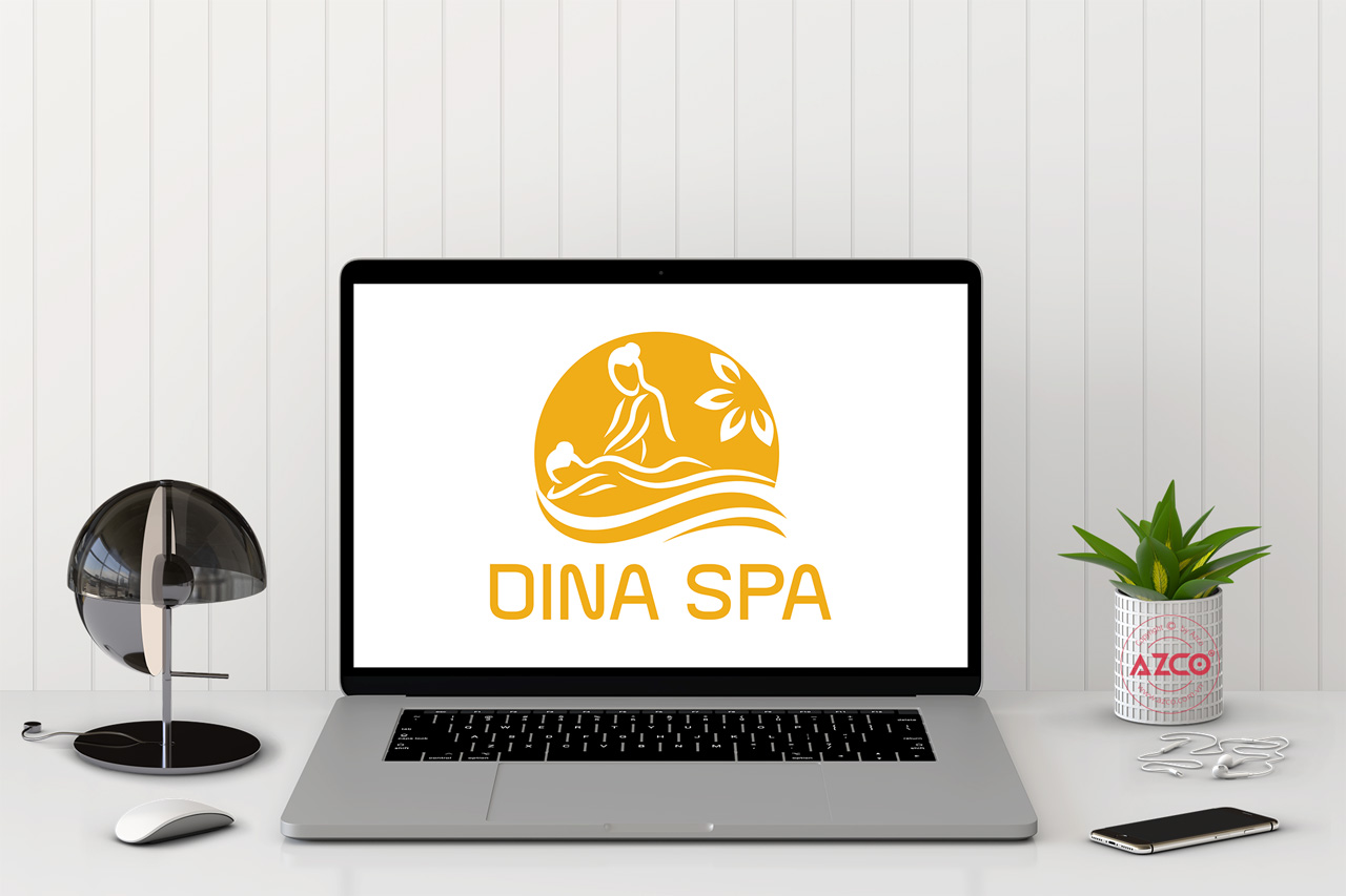 Thiết Kế Logo Thương Hiệu DINA SPA Tại AZCO