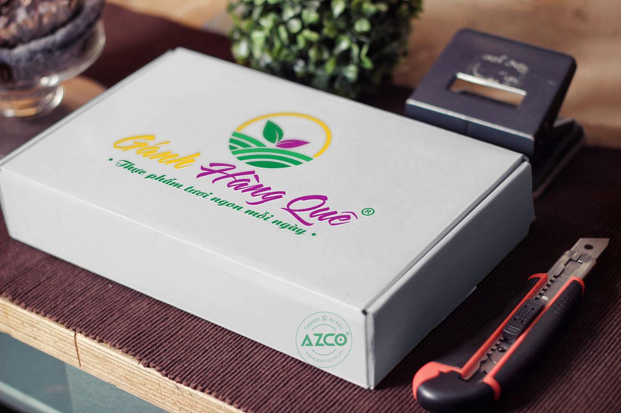 Thiết kế logo thương hiệu GANH HANG QUE | AZCO Branding