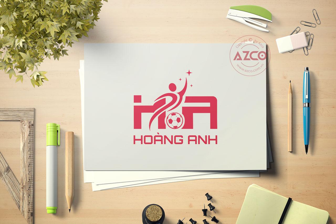 Thiết Kế Logo Thương Hiệu HOÀNG ANH Tại AZCO