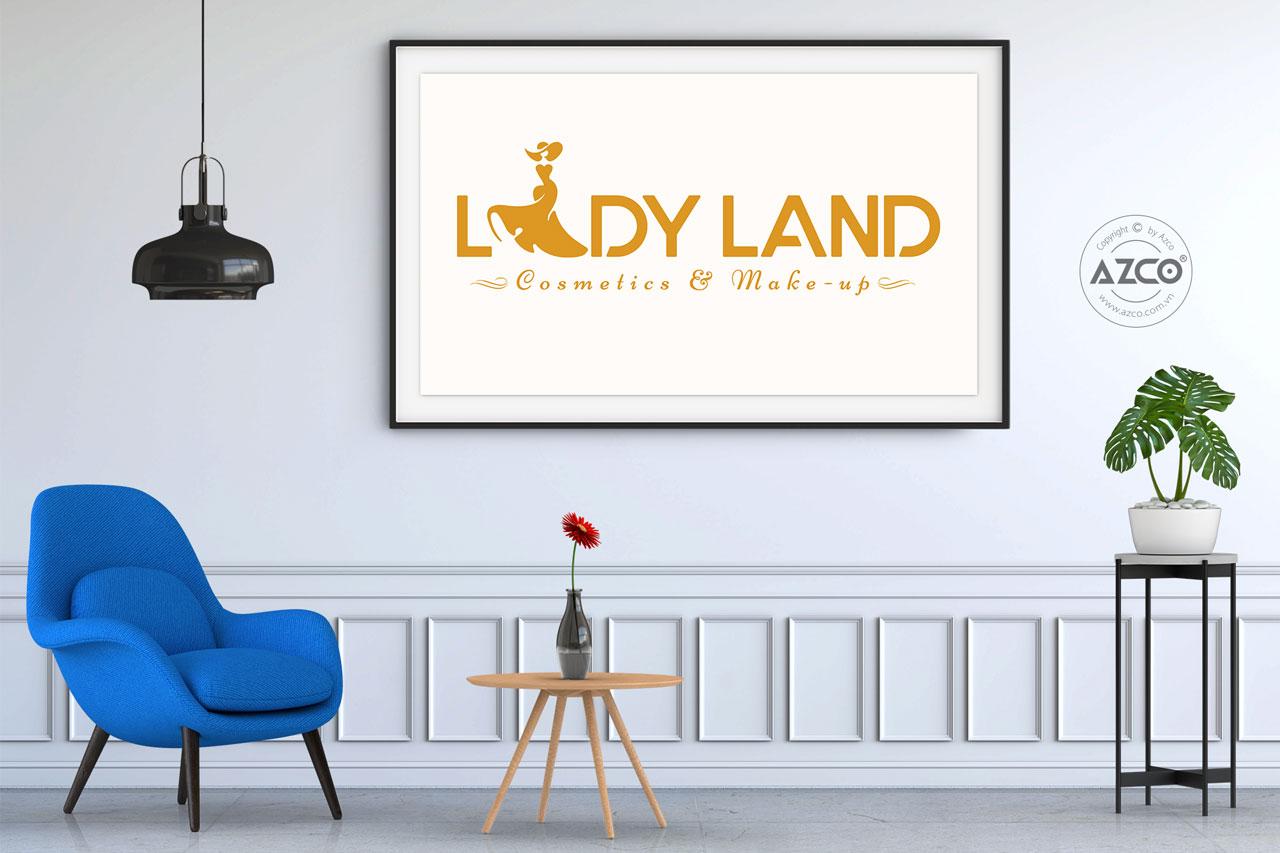 Thiết Kế Logo Thương Hiệu LADY LAND Tại AZCO