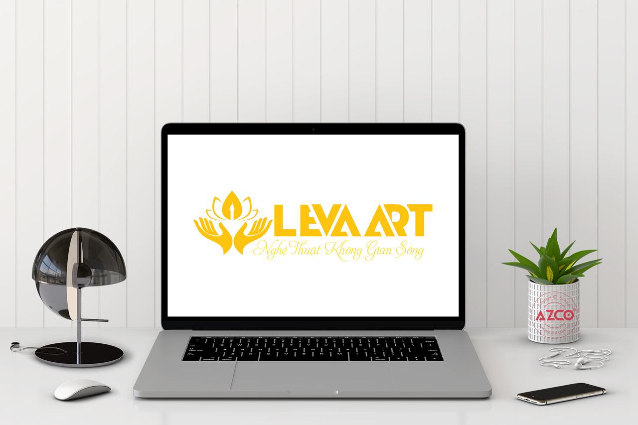 Thiết Kế Logo Thương Hiệu LEVAART Tại AZCO