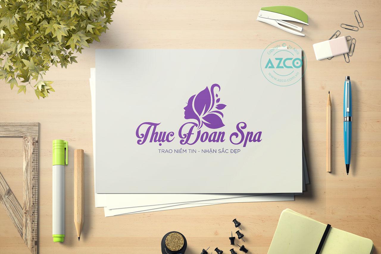 Thiết Kế Logo Thương Hiệu THỤC ĐOAN SPA Tại AZCO