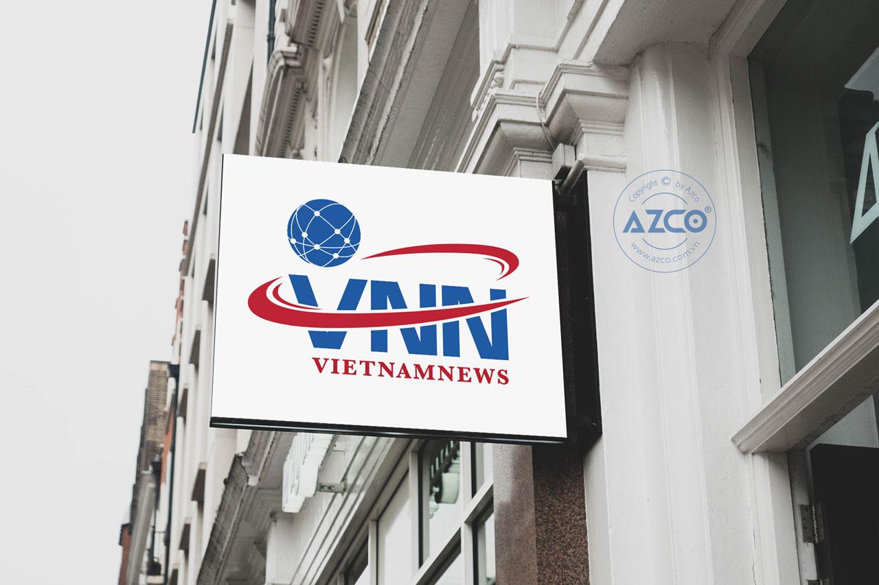 Thiết Kế Logo Thương Hiệu VNN Tại AZCO