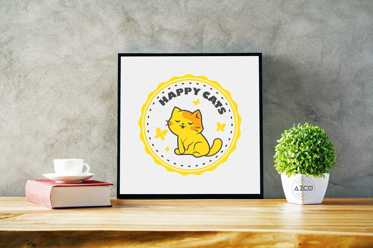 Dự án thiết kế logo Happy Cats
