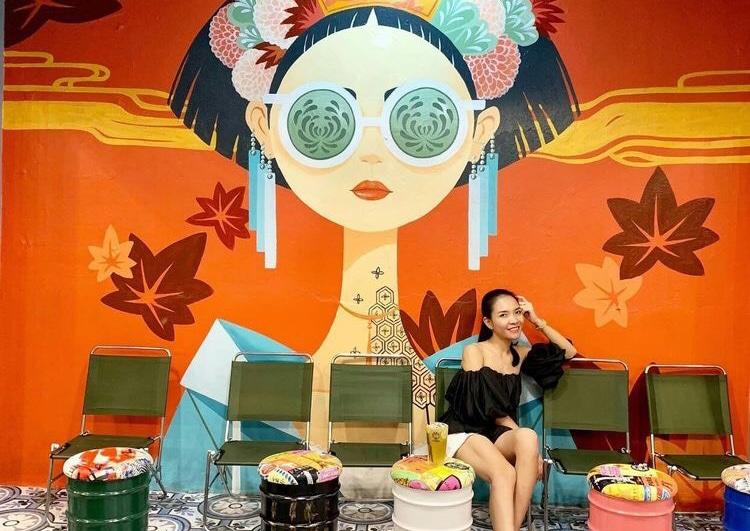 Tranh tường quán trà sữa | Tranhtuongvietnam