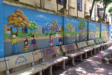 Tranh tường trường mầm non | Tranhtuongvietnam