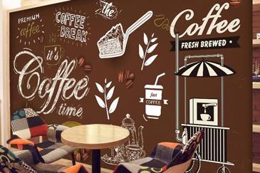 Tranh tường quán cà phê | Tranhtuongvietnam