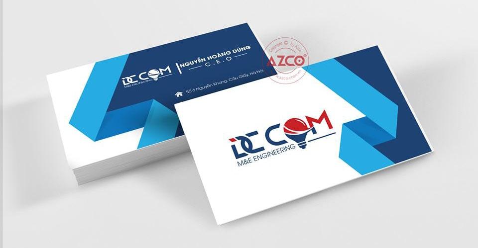 Dịch vụ in ấn card visit | AZCO Branding