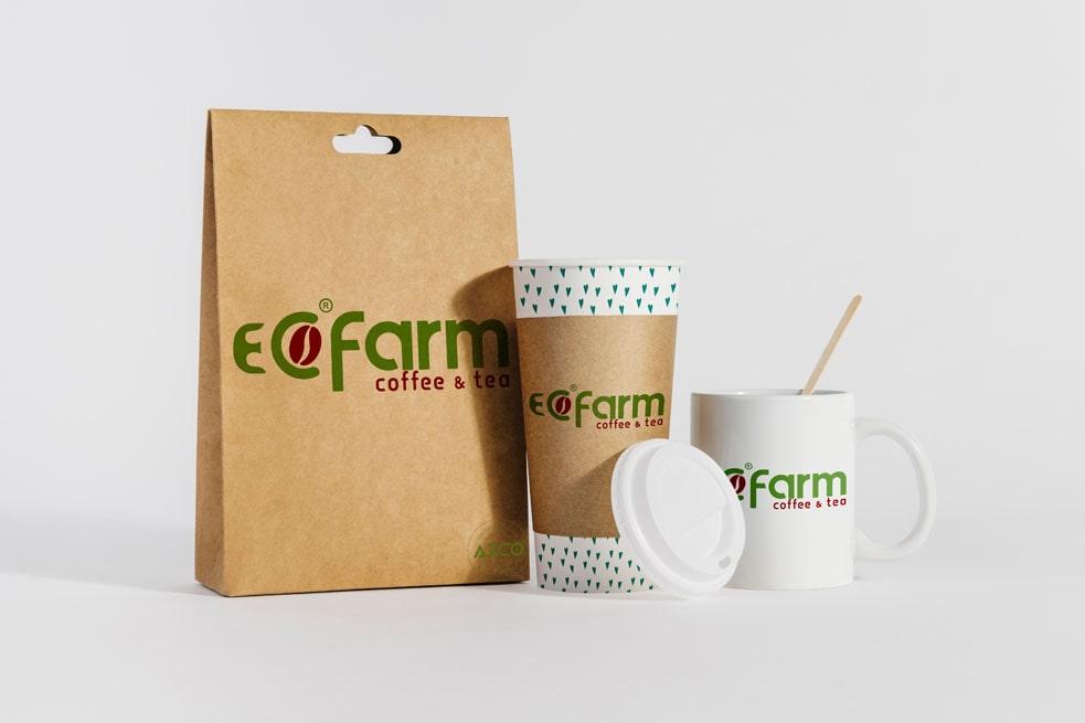 Thiết kế ECO FARM   AZCO Branding