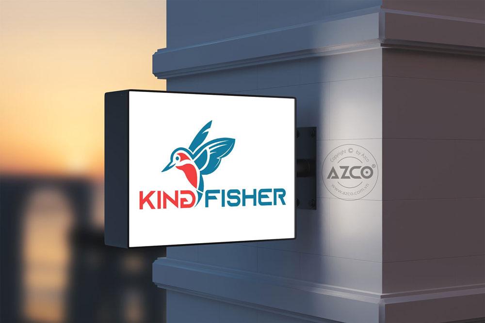 Thiết kế thương hiệu king fisher